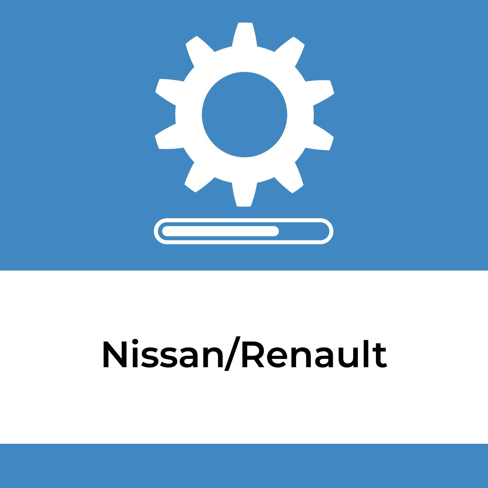 Software Loading Service - Nissan/Renault