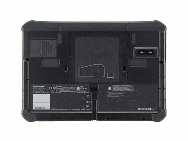 Panasonic ToughBook CF-D1 Rear View