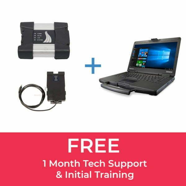 BMW ICOM Next (A+B), BMW Key Reader & Panasonic CF-54 Laptop Bundle