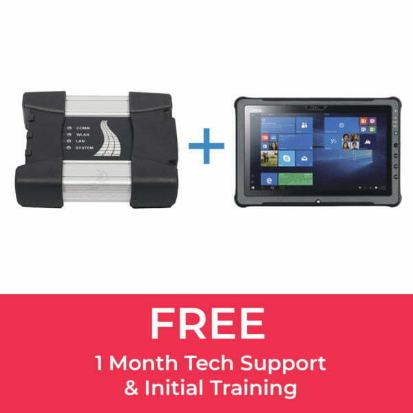BMW ICOM Next (A+B) & Getac F110 Tablet Bundle
