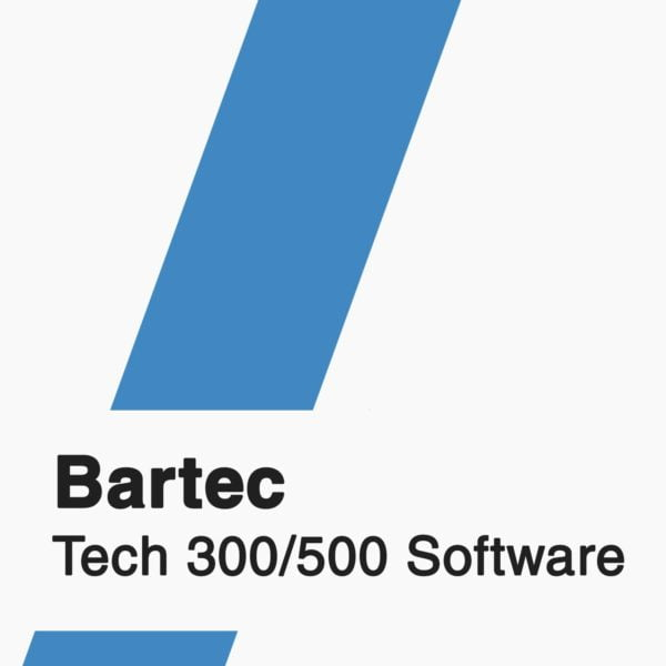 Bartec Tech 300/500 Software badge