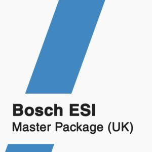 Bosch ESI Master Package UK Subscription badge