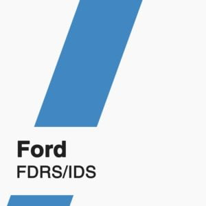 Ford FDRS/IDS Subscription badge