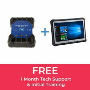 GM MDI 2 (100% Original) & Panasonic CF-D1 Tablet Bundle