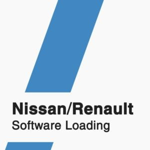 Nissan Renault Software Loading badge