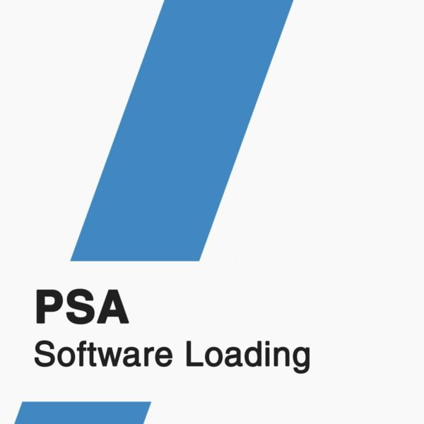 PSA Software Loading badge