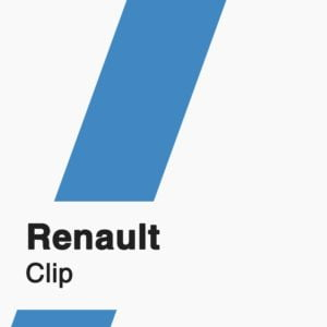 Renault Clip Subscription badge