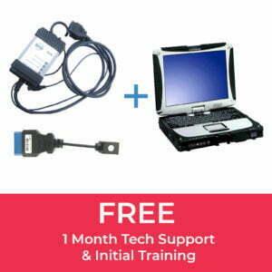 Volvo DiCE, DOIP Adapter & Panasonic CF-19 Laptop Bundle