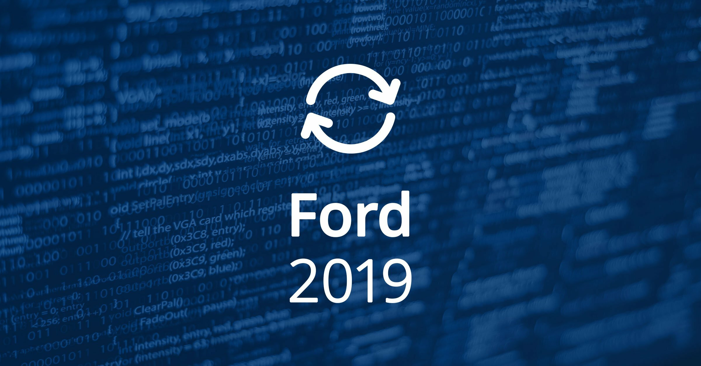 Ford Software Updates 2019