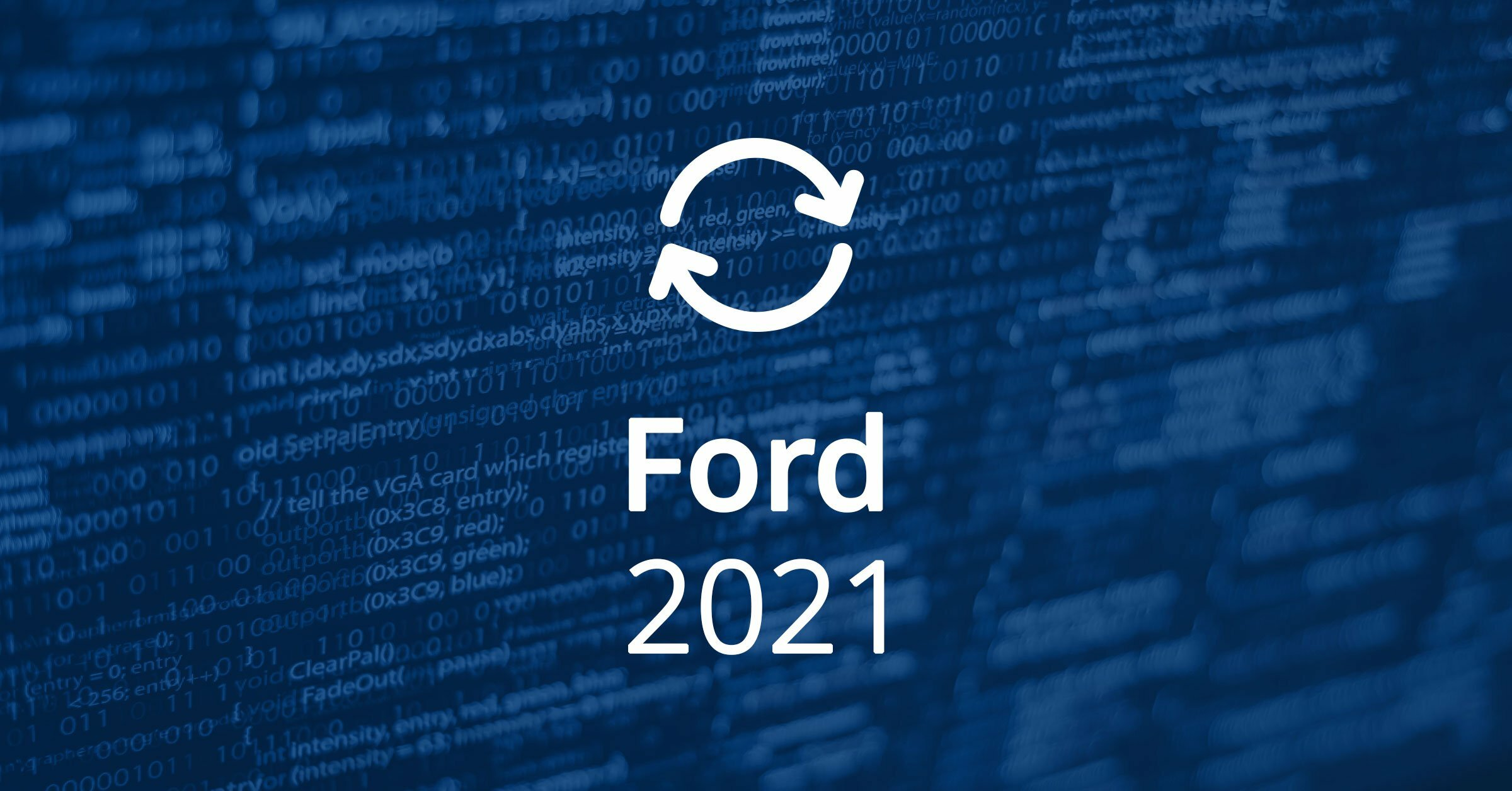 Ford Software Updates 2021