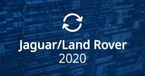 Jaguar Land Rover Software Updates 2020