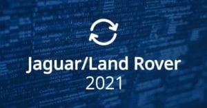 Jaguar Land Rover Software Updates 2021
