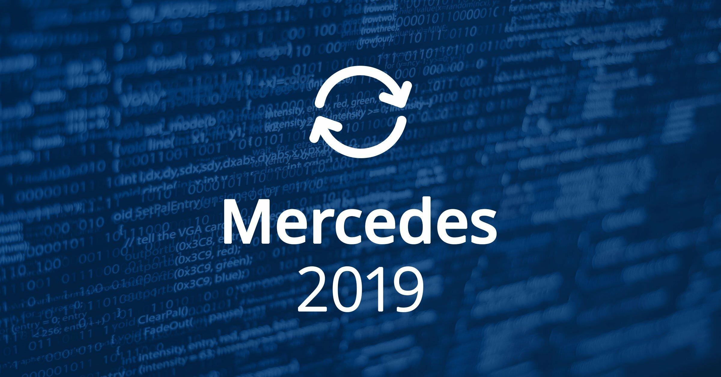 Mercedes Software Updates 2019