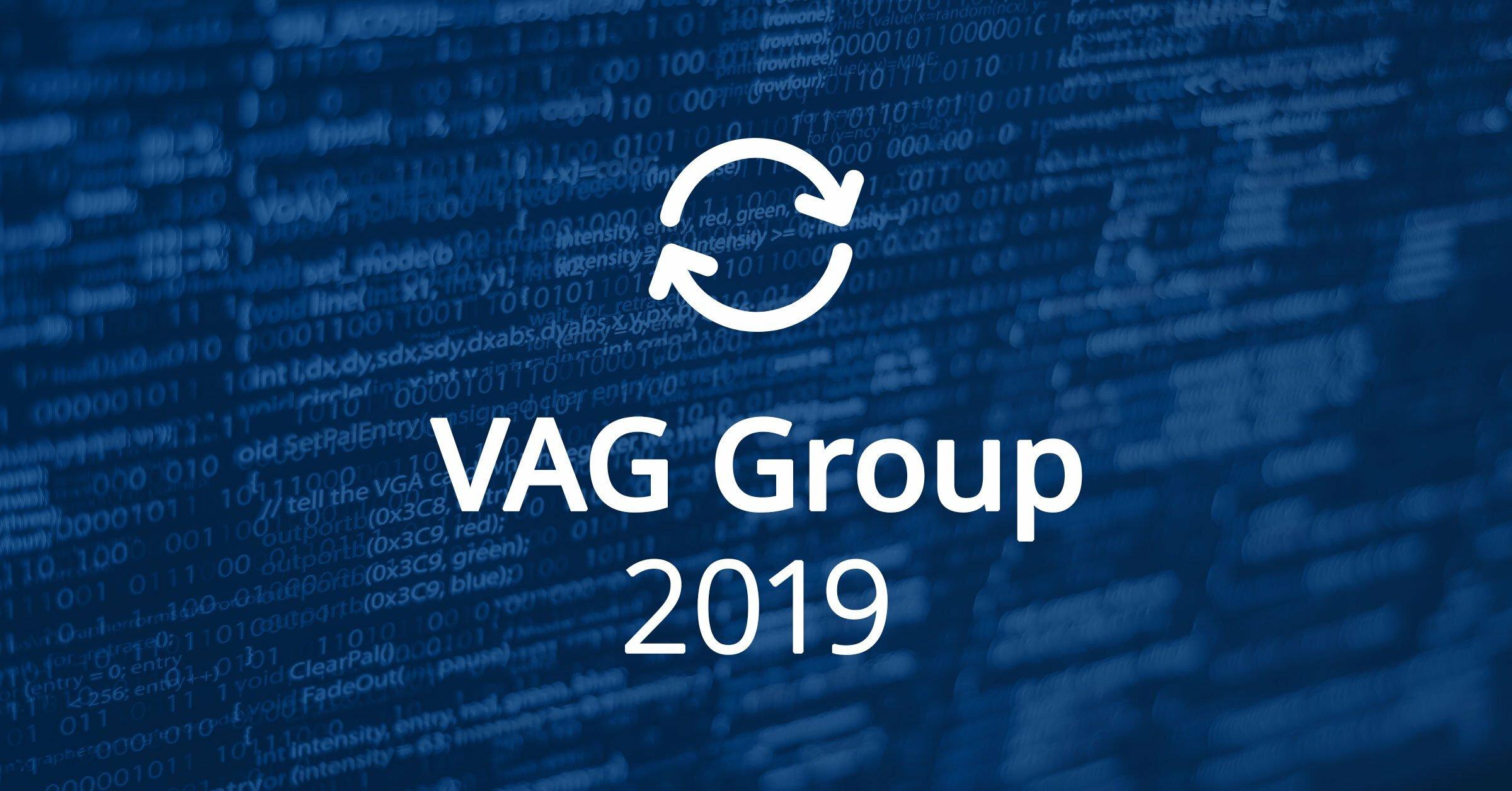 VAG Group Software Updates 2019