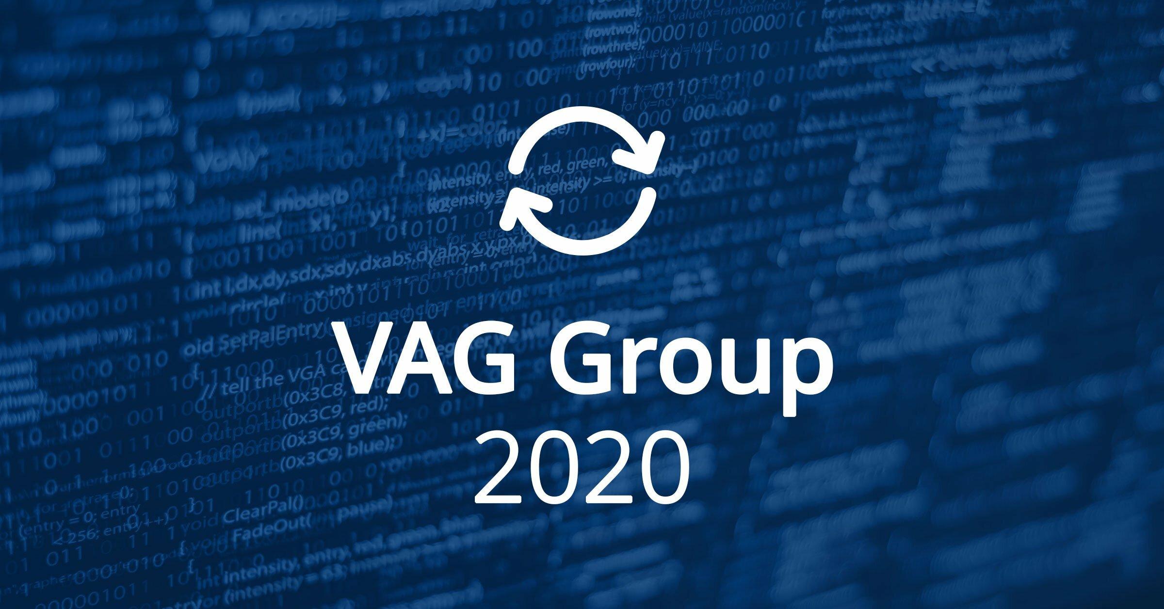 VAG Group Software Updates 2020