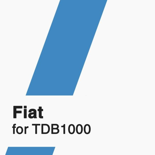 Fiat Software TDB1000 Logo