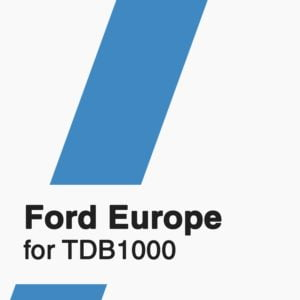 Ford Europe software for TDB1000 tool