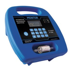 Mentor Portable Refrigerant Identifier for R1234yf & R134a unit