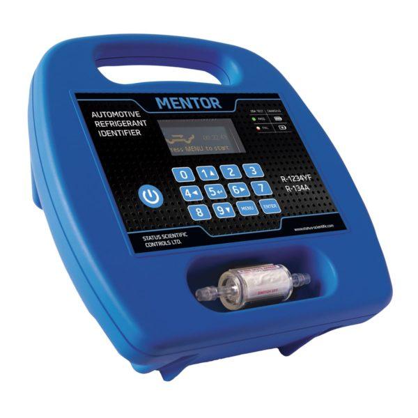 Mentor Portable Refrigerant Identifier for R1234yf & R134a unit