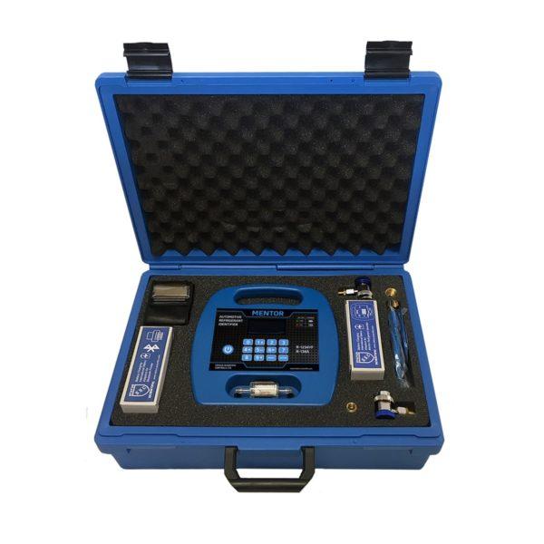 Mentor Portable Refrigerant Identifier for R1234yf & R134a full kit