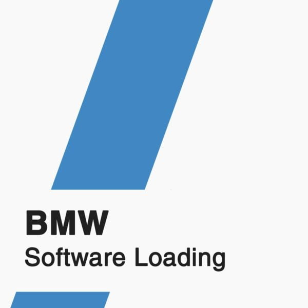 BMW Software Loading badge