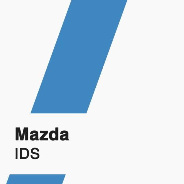 Mazda IDS software