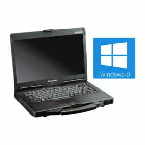 Panasonic Toughbook CF-53 with Windows 10 logo