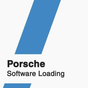 Porsche Software Loading badge