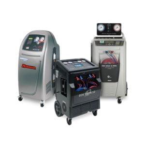 Multiple manufacturer air con machines